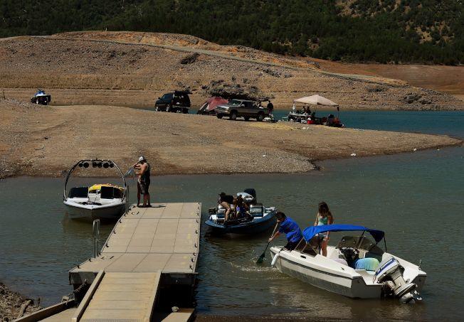 聖荷西一名年輕男子周末在北加州沙士達湖遭船屋螺旋漿斬斷下肢慘死。(Getty Images)