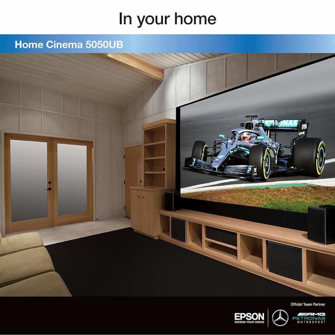 Epson Home Cinema 5050UB 4K也是深受歡迎的投影產品。(亞馬遜圖片)