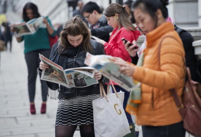 華盛頓郵報旗下的運營16年的免費報紙「快報」周四之後停刊。(Getty Images)