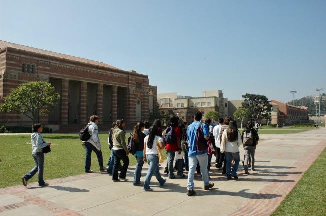 擔憂美國校園槍枝暴力,導致國際學生逐年下降。(記者丁曙/攝影)