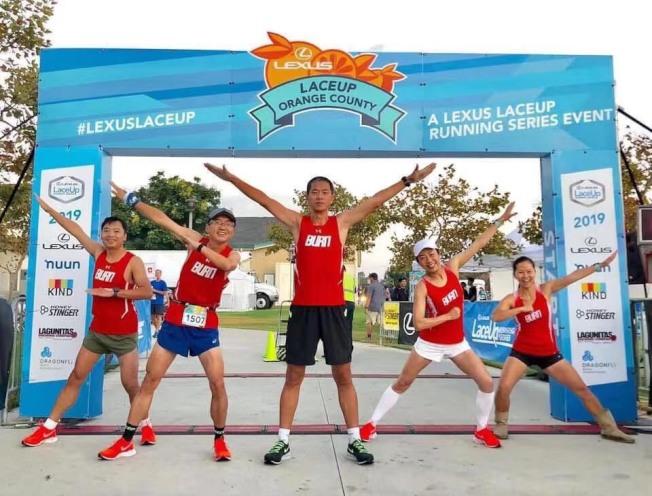 華人參賽2019年「凌志杯」馬拉松接力賽。(受訪者提供)