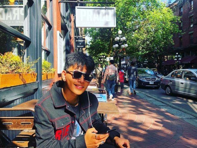 陳坤的17歲兒子。(取材自Instagram)