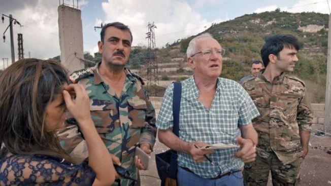 張僑勇最新紀錄片「這不是電影」跟隨73歲的英國「獨立報」中東駐地記者羅柏費斯克來到戰火紛飛的中東地區。(圖:TIFF提供)