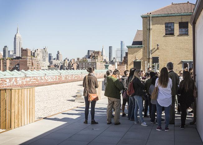 「紐約建築開放周」已成紐約市的年度盛事。圖為Westbeth Artist Housing。(Bella Muccari攝影)