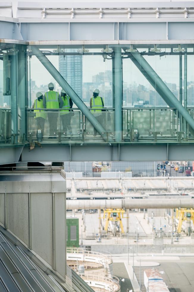 「紐約建築開放周」將於10月18日至20日登場,圖為Newtown Creek Waste Water Treatment Plant。(Ben Helmer攝影)