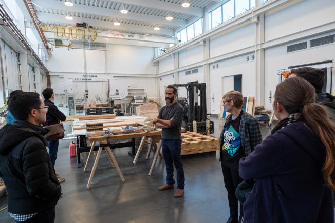 「紐約建築開放周」將於10月18日至20日登場,圖為Sculpture Studio。(Nicolas Lemery Nantel攝影)