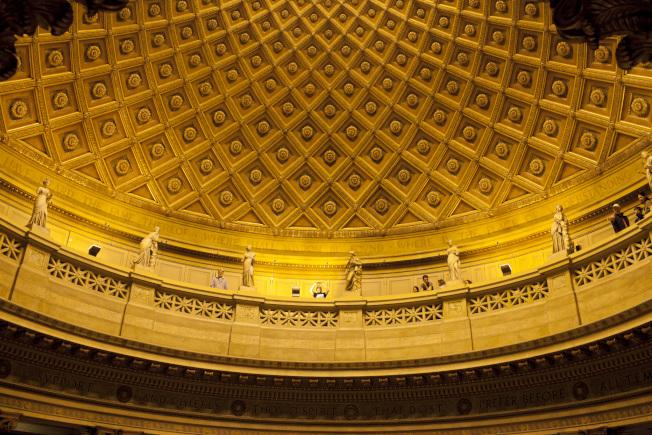 「紐約建築開放周」將於10月18日至20日登場,圖為Gould Memorial Library。(Jessica Bruah攝影)