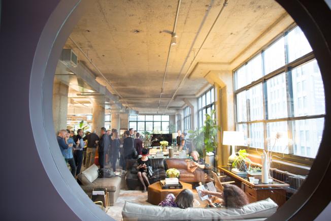 「紐約建築開放周」已成紐約市的年度盛事,圖為INC Reception。(Ben Helmer攝影)