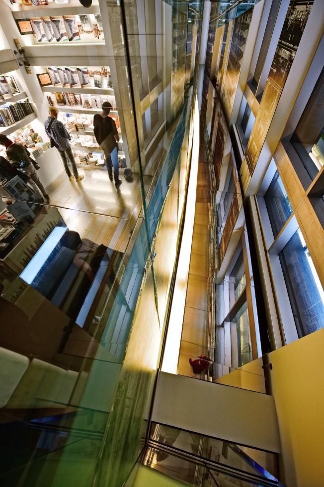 「紐約建築開放周」有300處全市不同時期、風格各異的建築與民眾見面。圖為Skyscraper Museum。(Dara Ghavami攝影)