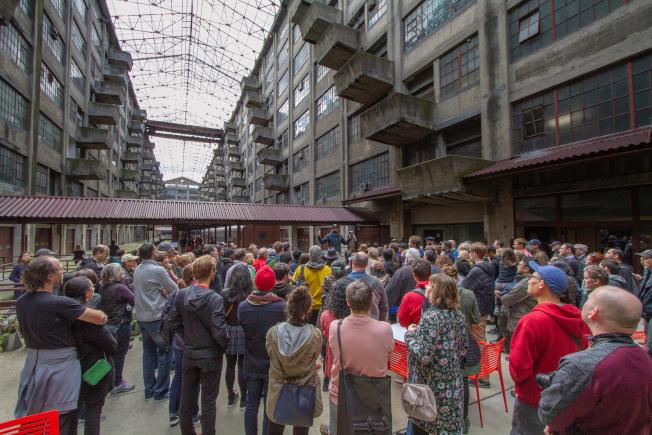 「紐約建築開放周」將於10月18日至20日登場,圖為Brooklyn Army Terminal。(David Hogarty攝影)