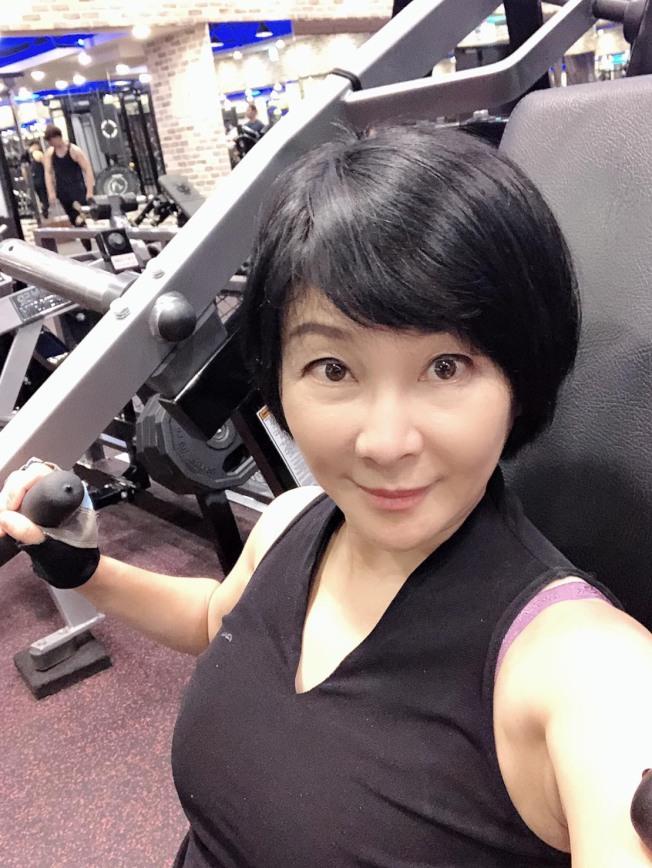 吳淡如一直勤於健身,年過半百仍體態良好。(圖:吳淡如提供)
