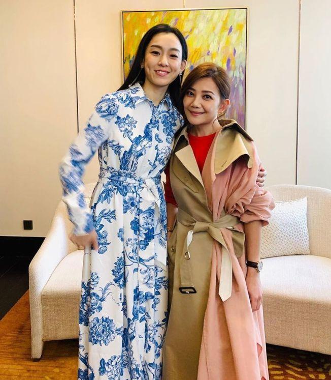 梁靜茹(右)與范瑋琪是多年好友。(取材自Instagram)
