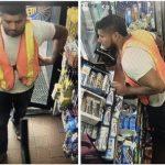 法拉盛加油站拿飲料砸店員 西裔男被通緝