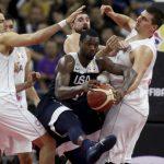 世界杯男籃╱輸塞爾維亞跌出5名外 美男籃排名史上最差