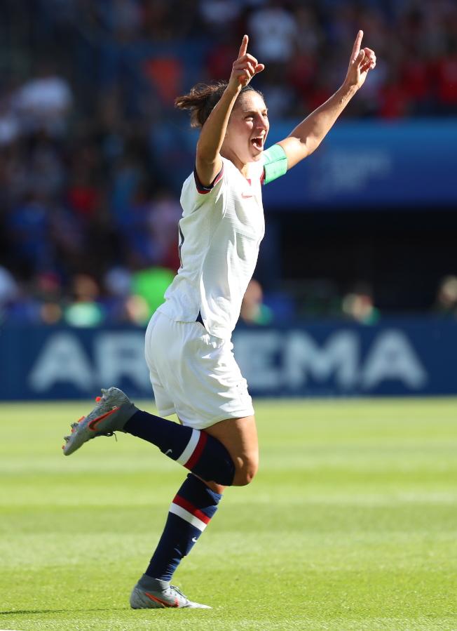 勞埃德是近代美國女足的功臣之一。(歐新社)