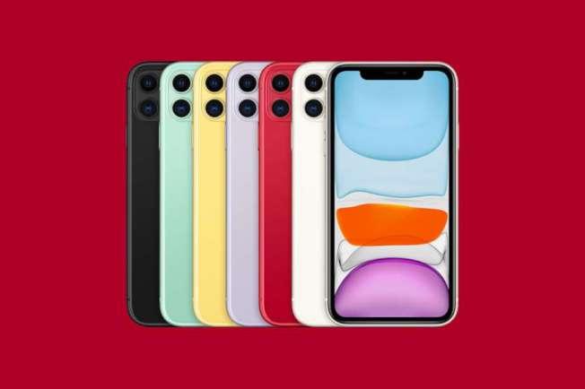 蘋果的iPhone 11起價只要699元,周五(13日)開始接受預訂,20日則在店舖銷售。iPhone 11設雙鏡頭,與iPhone 11 Pro和iPhone 11 Pro Max的三鏡頭不同。(Getty Images)