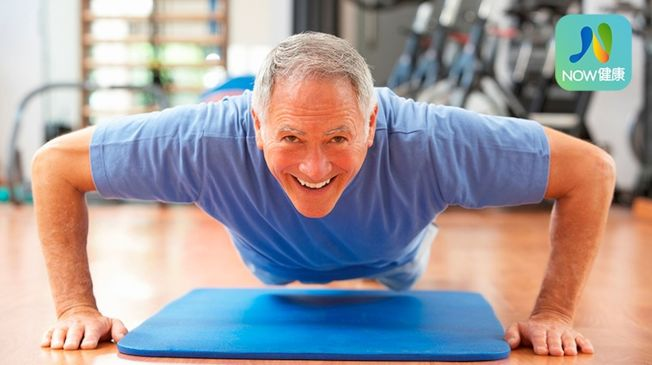 即使是不常鍛鍊身體的老人,還是可以從鍛鍊中得到好處。(ingimage)