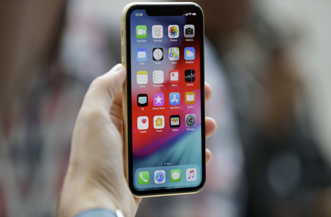 iPhone XR成為美國最熱銷蘋果手機。(美聯社)