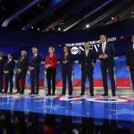 民主黨第三輪激辯 進步派務實派大戰 白登舌戰華倫