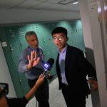 黃之鋒在紐約座談  爭取美支持香港民主運動