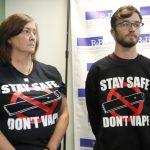 吸電子菸罹肺病 18歲青年告菸商
