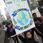 紐約市准學生缺課一天 參加氣候變遷抗議活動