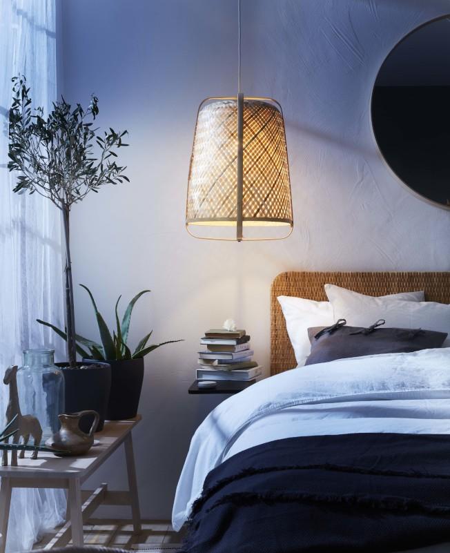 IKEA KNIXHULT吊燈,售價1,390元。圖/IKEA提供