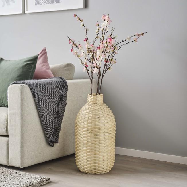 IKEA KAFFEBONA裝飾花瓶,售價1,290元。圖/IKEA提供