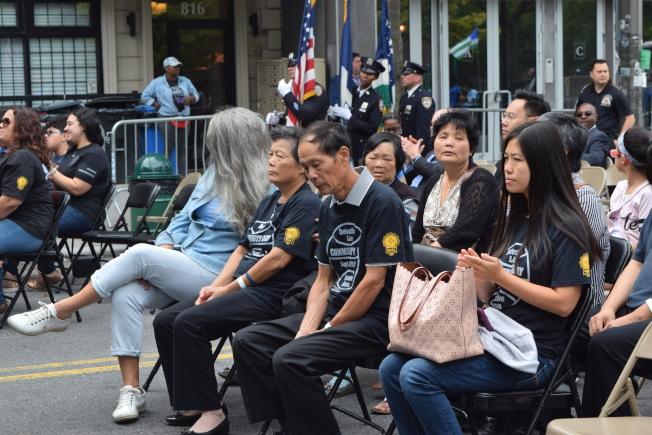 劉文健家人出席第五屆社區日活動。(顏潔恩/攝影)