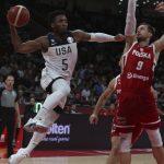世界杯男籃╱擊敗波蘭 美國隊史最慘成績作收