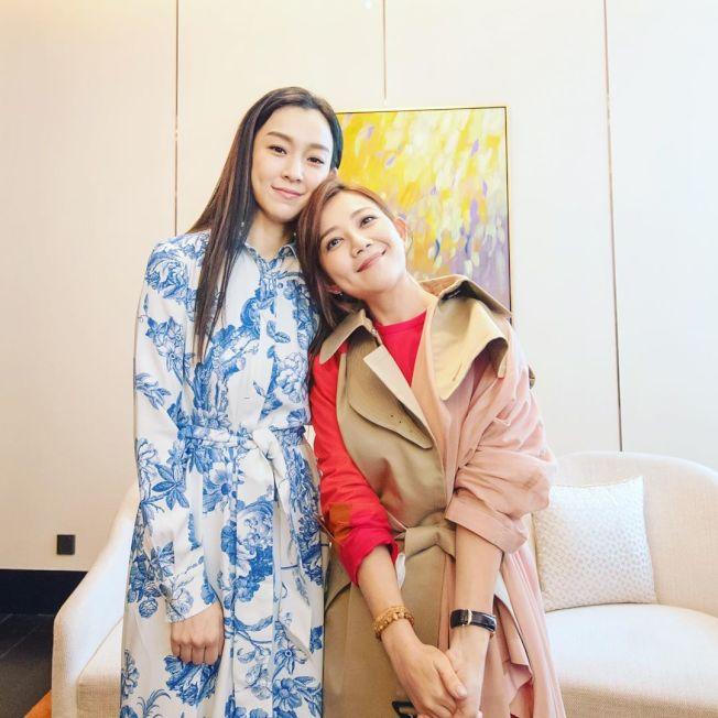 梁靜茹(右)跟范瑋琪(左)是多年好友,一度傳情誼生變。(取材自Instagram)