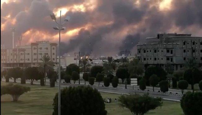 沙烏地阿拉伯石油設施14日受到攻擊後,美國能源部準備動用戰略石油儲備。。 路透