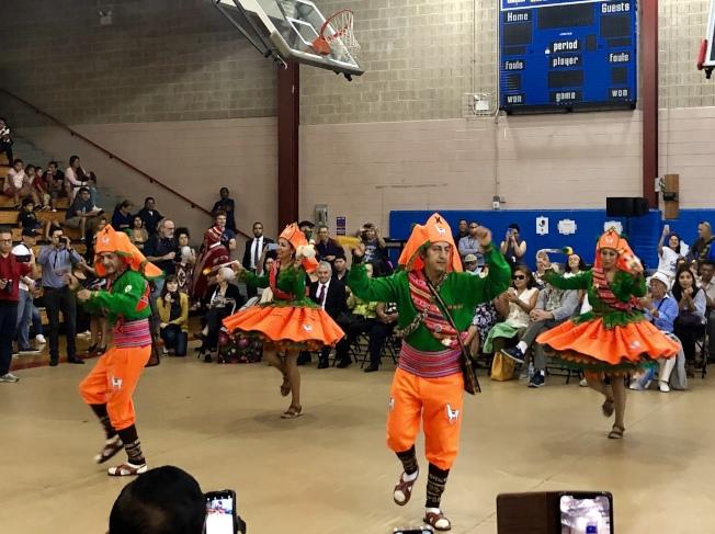 活動慶祝社區多元化。(記者朱蕾/攝影)