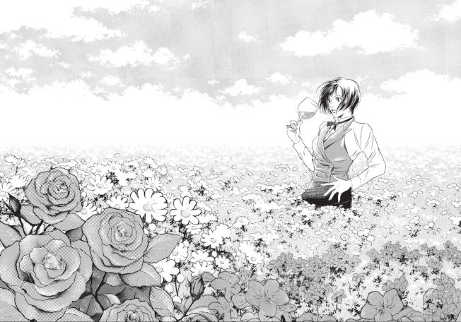 在漫畫「神之雫」中,角色紫野原雅喝了一口DRC Richebourg後睜眼便驚然發覺自己置身花田中心,感覺到百花的芬芳。(姜理得提供)