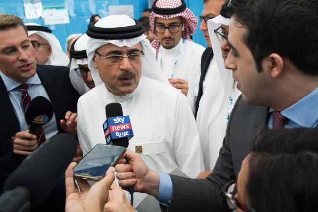 沙國阿美石油總裁兼執行長納瑟15日表示,將儘快修復煉油廠,恢復正常產量。(美聯社)