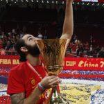 世界杯男籃╱ 努了13年!西班牙全勝摘隊史第2冠
