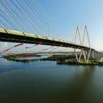 綠色和平組織抗議 橋下懸吊阻油輪