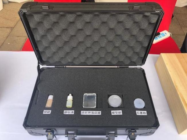 製作指紋膜的工具。(取材自澎湃新聞)