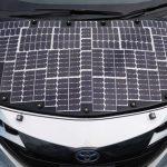 豐田測試全太陽能車