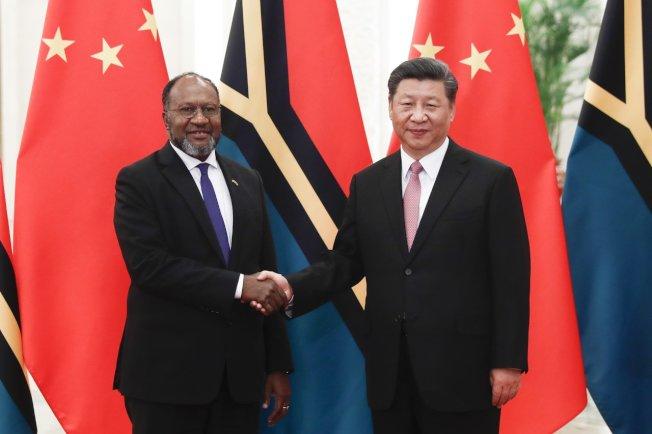 索羅門政府正評估是否與台灣斷交,轉與中國建交。 (美聯社)