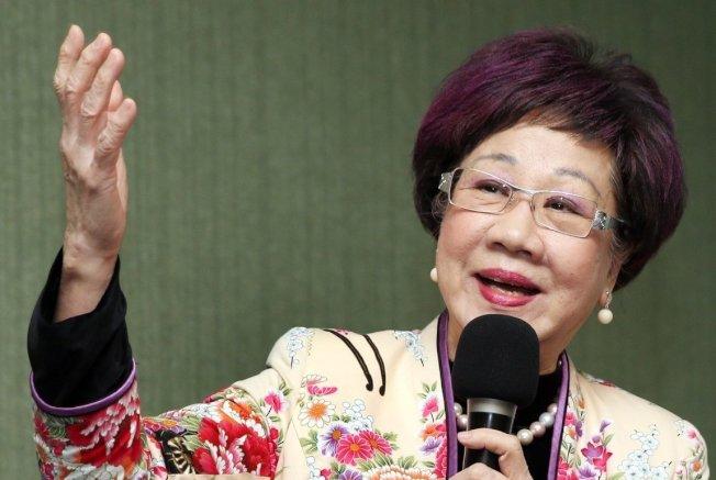 前副總統呂秀蓮。 圖:本報系資料照片