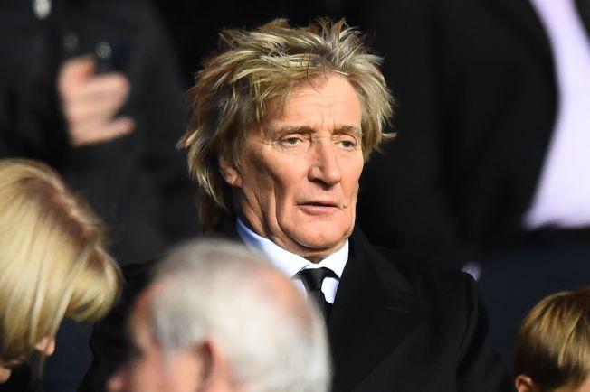 圖為英國搖滾樂明星洛史都華(Rod Stewart)。Getty Images