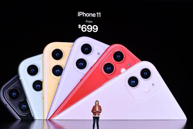 iPhone 11需求超出預期,絕大部分要歸功於中國消費者。(Getty Images)