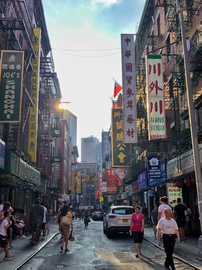 紐約人均擁有最多飯店。(記者鄭怡嫣 / 攝影)