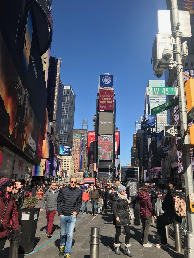 全美最好玩城市排行榜,紐約市列名第三,但生活娛樂成本也最高。(記者邵冰如/攝影)