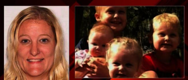 凱西‧瓊斯與四名兒女均被瓊斯殺害。(截自視頻)