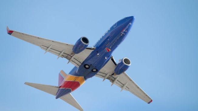 西南航空班機。(Getty Images)