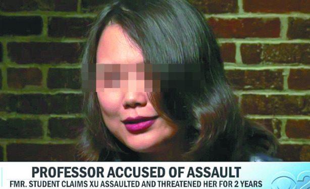 一位前中國女留學生勇敢挺身在 「CBS今晨」節目受訪。(取自取自CBS This Morning)