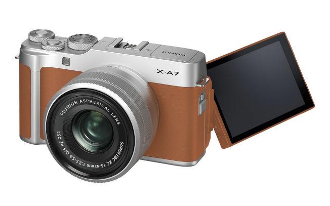 富士相機X-A7。(取材自富士官網)