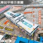 5樓高的車站搬家…旋轉90度、橫走288米 海外網友驚呆